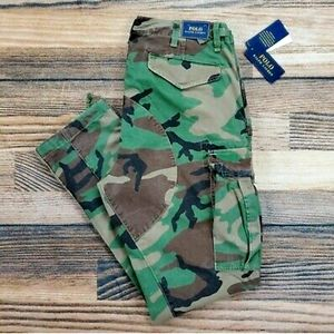 Polo camo fatigues-NWT